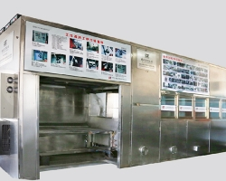 Double-layer fully automatic ultrasonic cleaning machine