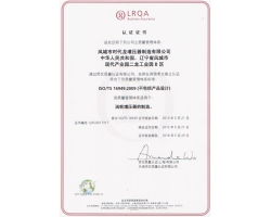 Get ISO/TS16949 quality system certification in 2013