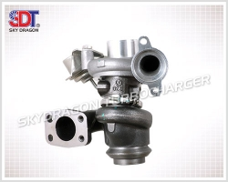 ST-M143 TD02 The main Supplier Turbocharger For Fiat Scudo 1.6D Multijet Turbo 49173-07508 N0 with the Engine