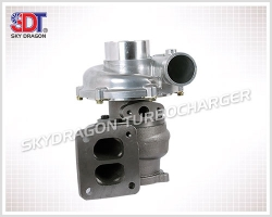 ST-I304 ZX200 Excavator 6BG1 Engine Part Turbocharger 114400-3770